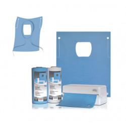 Стоматологические салфетки с прорезью для лица 60х54см, 40 шт., Thienel Dental