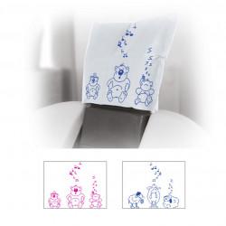 Чехлы защитные для подголовника с детским рисунком 27х28 см., 100 шт., Thienel Dental